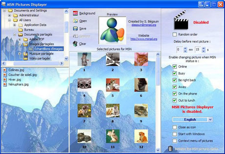Pictures Displayer 4.6.0.1 MSN_Pictures_Displayer.jpg